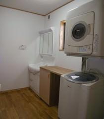 明るく、広くなった洗面・脱衣室