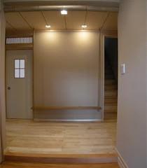 玄関の飾り棚