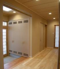 和風の玄関ホール